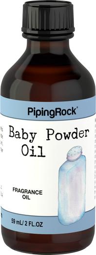 Óleo perfumado de talco para bebé, 2 fl oz (59 mL) Frasco
