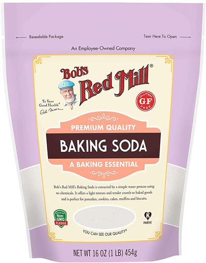 Buy Natural Baking Soda 16 oz (454 g) Bag