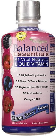 Balanced Essentials Liquid Vitamin Multi (Natural Berry) 32 fl oz