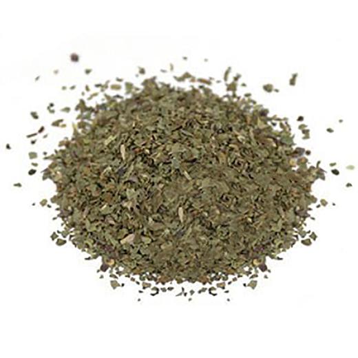 Organic Basil Leaf Cut & Sifted 1 lb (454 g) Bag