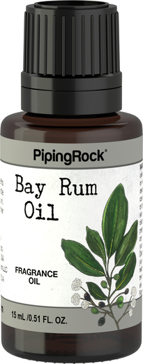 Bay Rum Essential Oil 1/2 oz (15 ml) Dropper Bottle