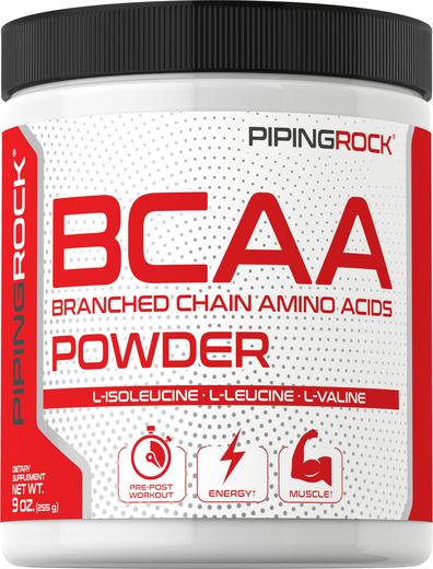 BCAA w proszku (aminokwasy rozgałęzione) 9 oz (255 g) Butelka