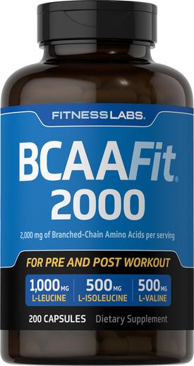 BCAAFit 2000 200 Kapsułki