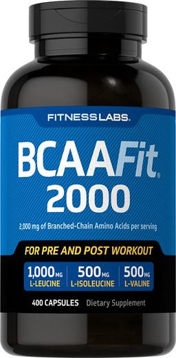 BCAAFit 2000 400 Kapsułki