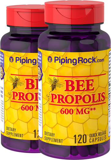 Buy Bee Propolis Supplement 2 Bottles of 120 Capsules
