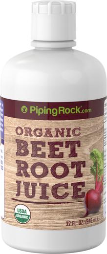 Beet Root Juice (Organic), 32 fl oz (946 mL) Bottle