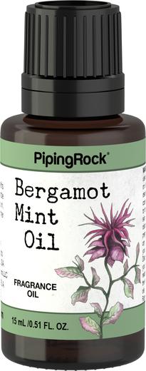 Óleo perfumado de bergamota e menta, 1/2 fl oz (15 mL) Frasco conta-gotas