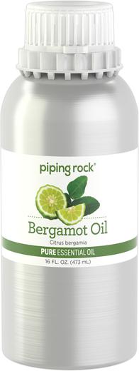 Bergamot Essential Oil (GC/MS Tested), 16 fl oz (473 mL) Canister