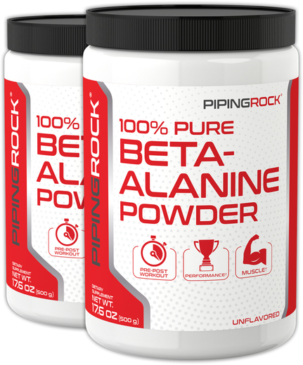 Beta-Alanina en polvo 17.6 oz (500 g) Botellas/Frascos