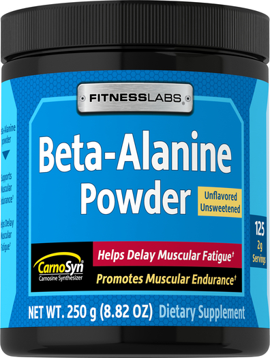 Beta-alanina w proszku 8.82 oz (250 g) Butelka