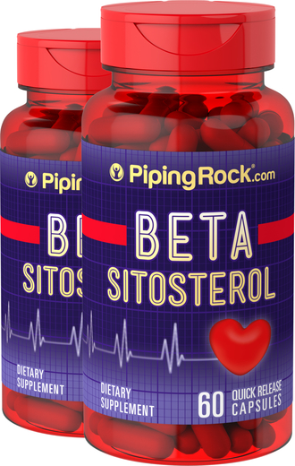 Beta Sitosterol 160 mg 2 Bottles x 60 Capsules