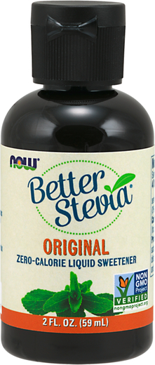Extrato líquido original Better Stevia, 2 fl oz (59 mL) Frasco