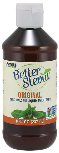 Oryginalny ekstrakt ze stewii w płynie Better Stevia 8 fl oz (237 mL) Butelka