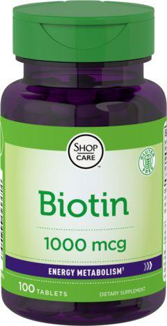 Биотин 100 Таблетки