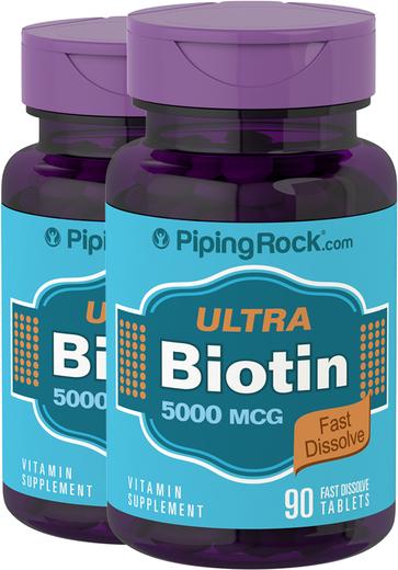 Biotin tablete s brzim otapanjem 90 Brzorastvarajuće tablete