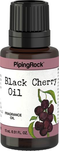 Óleo perfumado de cereja preta, 1/2 fl oz (15 mL) Frasco conta-gotas