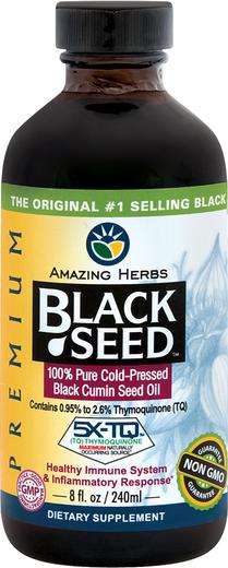 Olej z nasion czarnuszki siewnej 8 fl oz (240 mL) Butelka