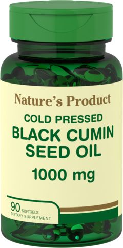 Black Cumin Seed Oil Cold Pressed 90 Perlas