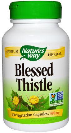 Cardo bendito, 390 mg, 100 Cápsulas vegetarianas