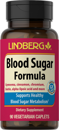 Blood Sugar Formula, 90 Vegetarian Caplets
