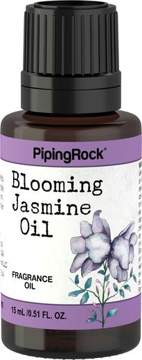 Óleo perfumado de jasmim florido, 1/2 fl oz (15 mL) Frasco conta-gotas