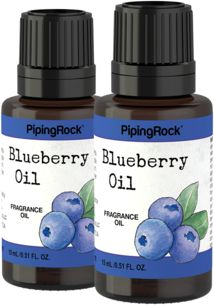 Blueberry Fragrance Oil 2 x 1/2 oz (15 ml) Dropper Bottle