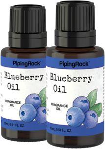 Blueberry Fragrance Oil 1/2 oz (15 ml) 2 Dropper Bottles