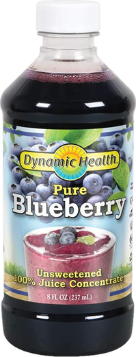 Blueberry Juice Concentrate Unsweetened, 8 fl oz (237 mL)