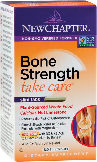 Bone Strength Take Care (Plant-Sourced Calcium), 120 Tabs