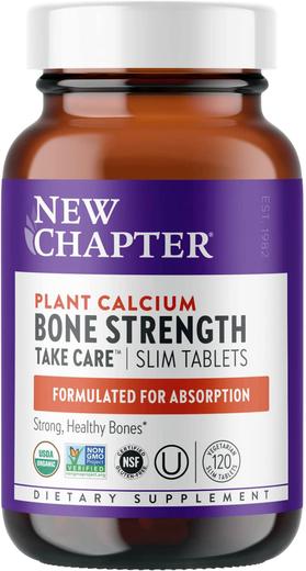 Środek na mocne kości (wapń pochodzenia roślinnego) 120 Tabletki