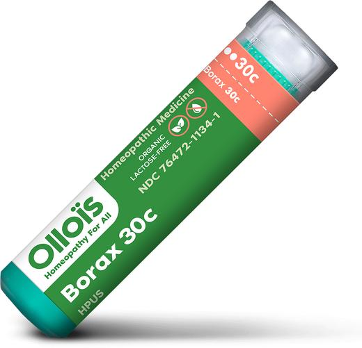 БoраксС30, гомеопатическое средство, афтозный стоматит (язвы в полости рта) 80 Пеллеты