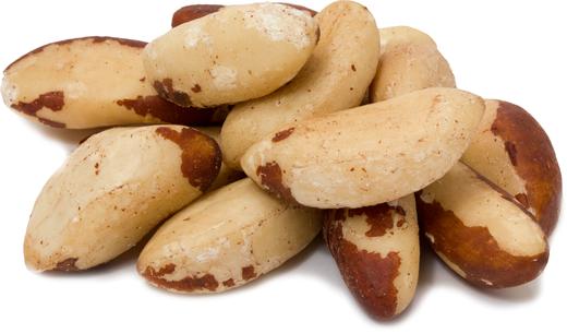 Castanhas-do-pará cruas sem sal, 1 lb (454 g) Saco, 2  Sacos