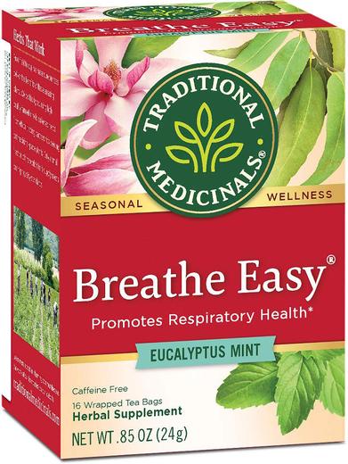 Chá Breathe Easy 16 Saquetas de chá