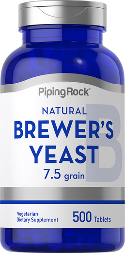 Brewer's Yeast 500mg 500 Tablets