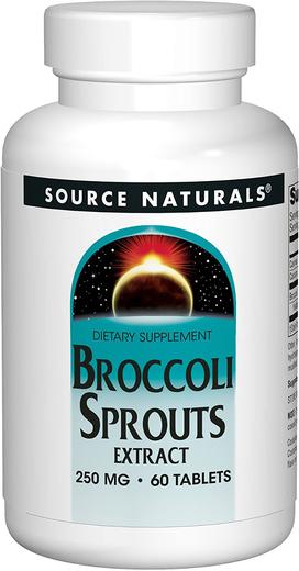 Broccoli Sprouts w/Sulforaphane, 250 mg, 60 Tablets