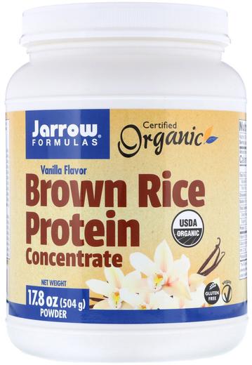 Brown Rice Protein Concentrate (Vanilla), 17.8 oz