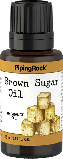 Óleo perfumado de açúcar castanho, 1/2 fl oz (15 mL) Frasco conta-gotas