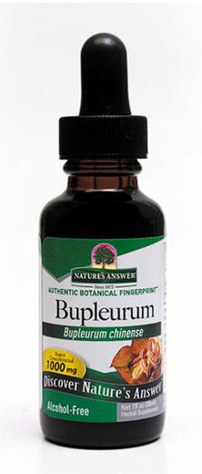 Ekstrak Cecair Bupleurum Bebas Alkohol 1 fl oz (30 mL) Botol Penitis