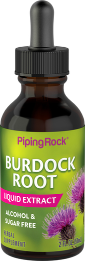 Burdock Root Liquid Extract Alcohol Free 2 floz (59mL)