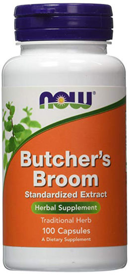 Butcher's Broom, 500 mg, 100 Capsules