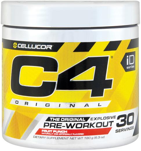 C4 Original Pre-Workout Powder (Fruit Punch)