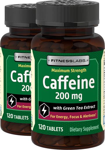 Kofeina 200 mg z wyciągiem z zielonej herbaty 120 Tabletki