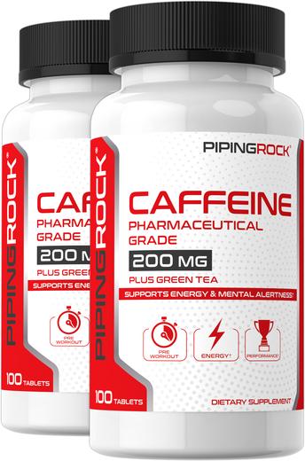 200 mg Caffeine Pills plus Green Tea