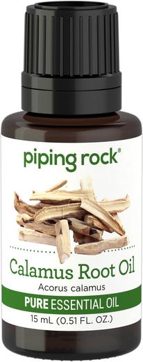 Calamus Root Essential Oil 1/2 oz (15 ml) Dropper Bottle