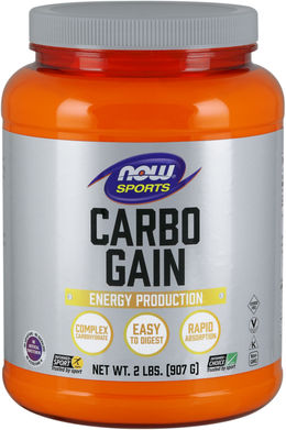 Carbo Gain 2 lbs (907 g) Botella/Frasco