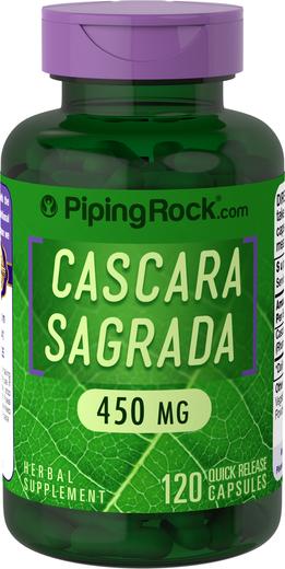 Cascara Sagrada Supplement 450 mg 120 Capsules