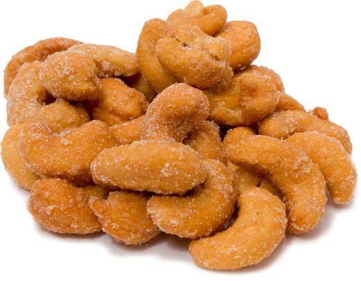 Cashewnøtter - honningristede 1 lb (454 g) Pose