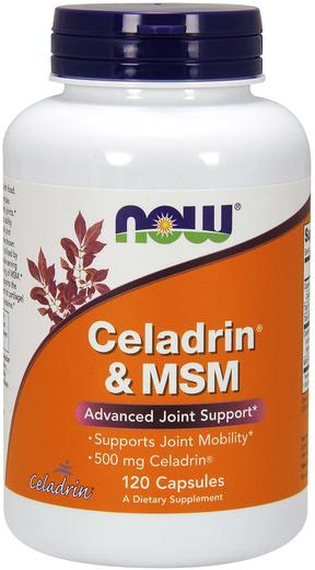 Celadrin 500 mg Plus MSM, 120 Capsules