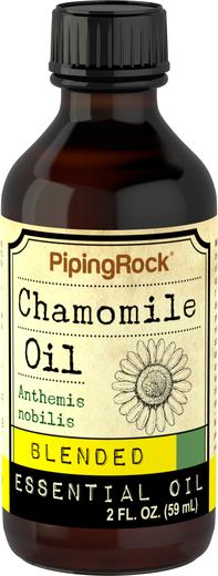 Mistura de óleo essencial de camomila, 2 fl oz (59 mL) Frasco