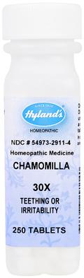 Chamomilla 30X Teething & Irritability 250 Tablets